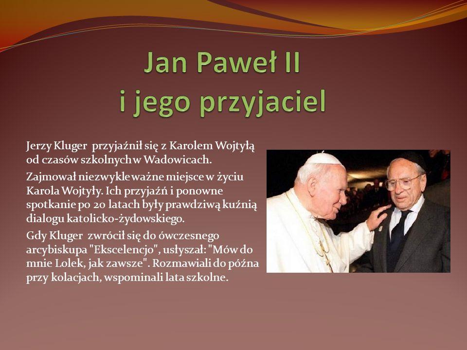 Jan Paweł II i jego przyjaciel