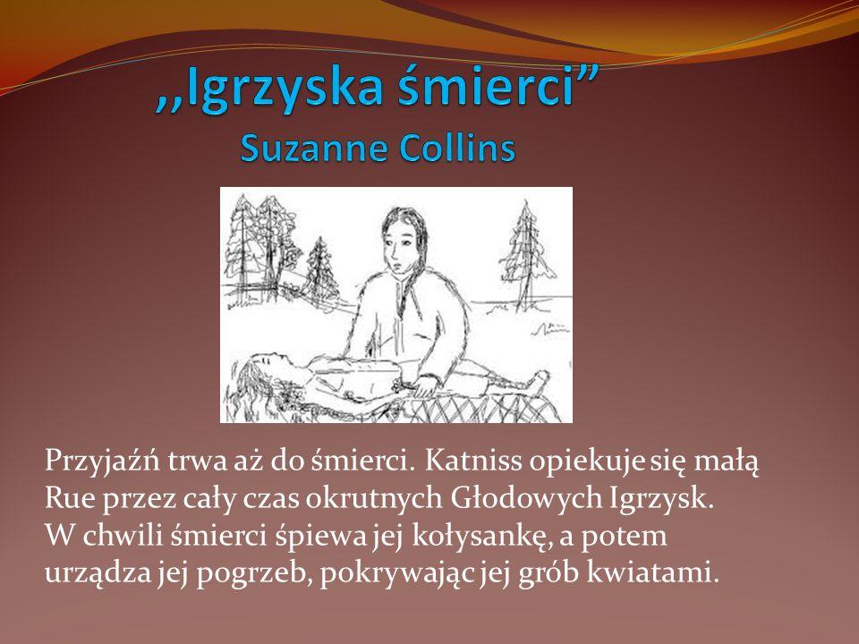 ,,Igrzyska śmierci Suzanne Collins