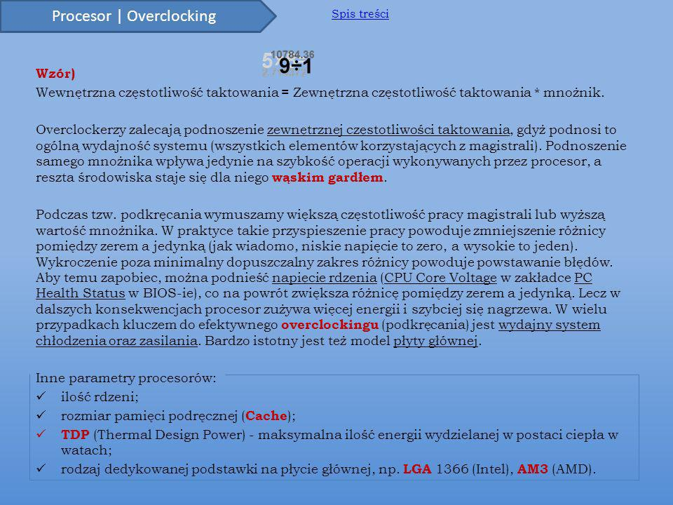 Procesor | Overclocking
