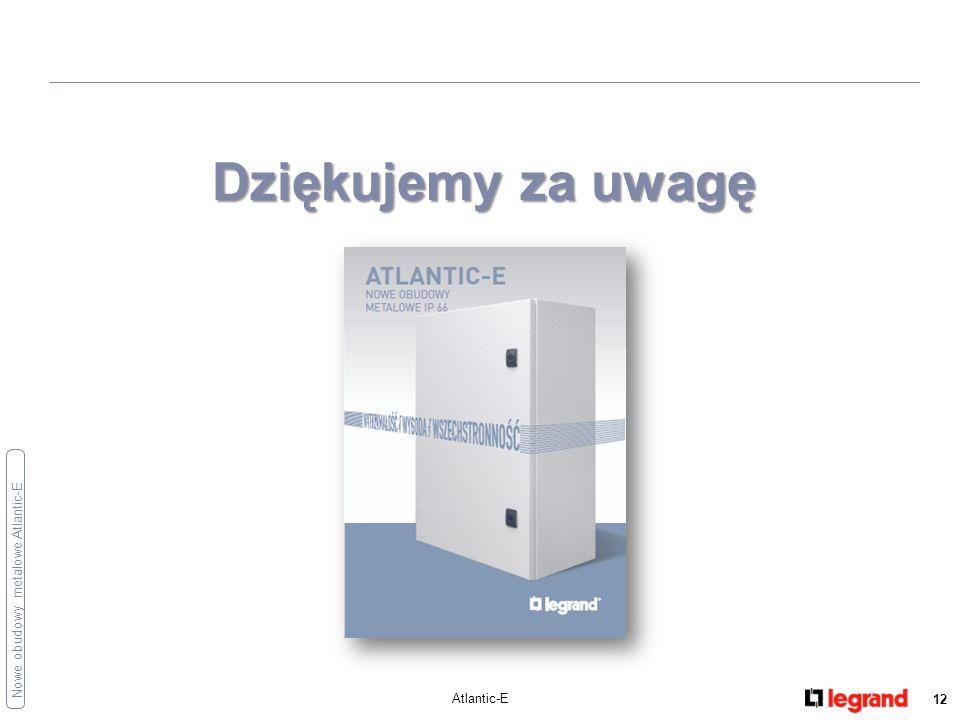 Dziękujemy za uwagę Atlantic-E