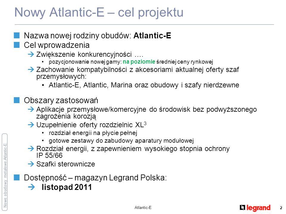 Nowy Atlantic-E – cel projektu