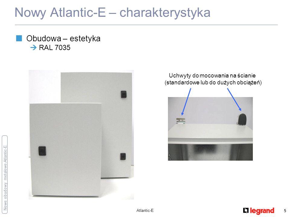 Nowy Atlantic-E – charakterystyka
