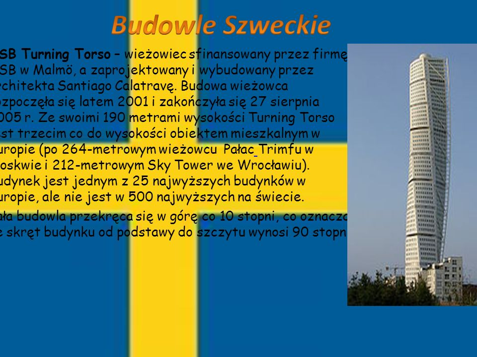 Budowle Szweckie