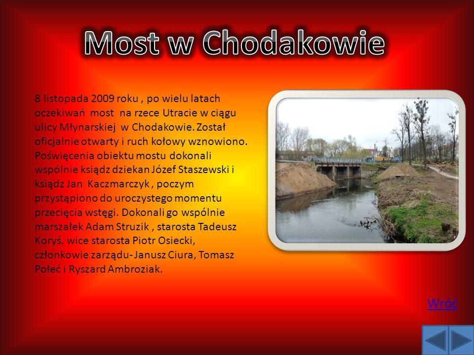 Most w Chodakowie