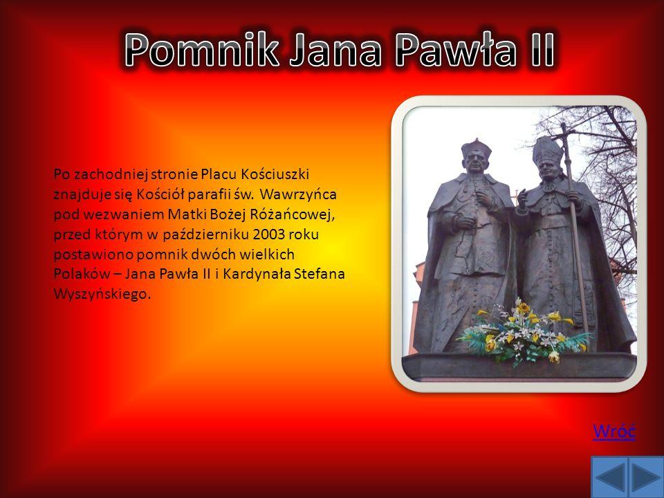 Pomnik Jana Pawła II Wróć