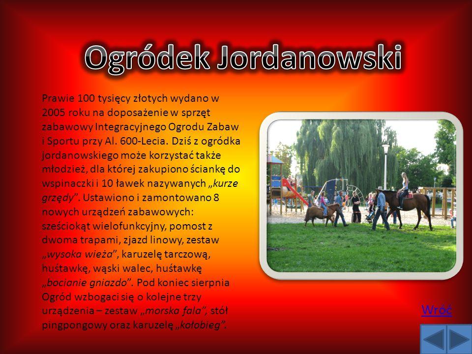 Ogródek Jordanowski Wróć