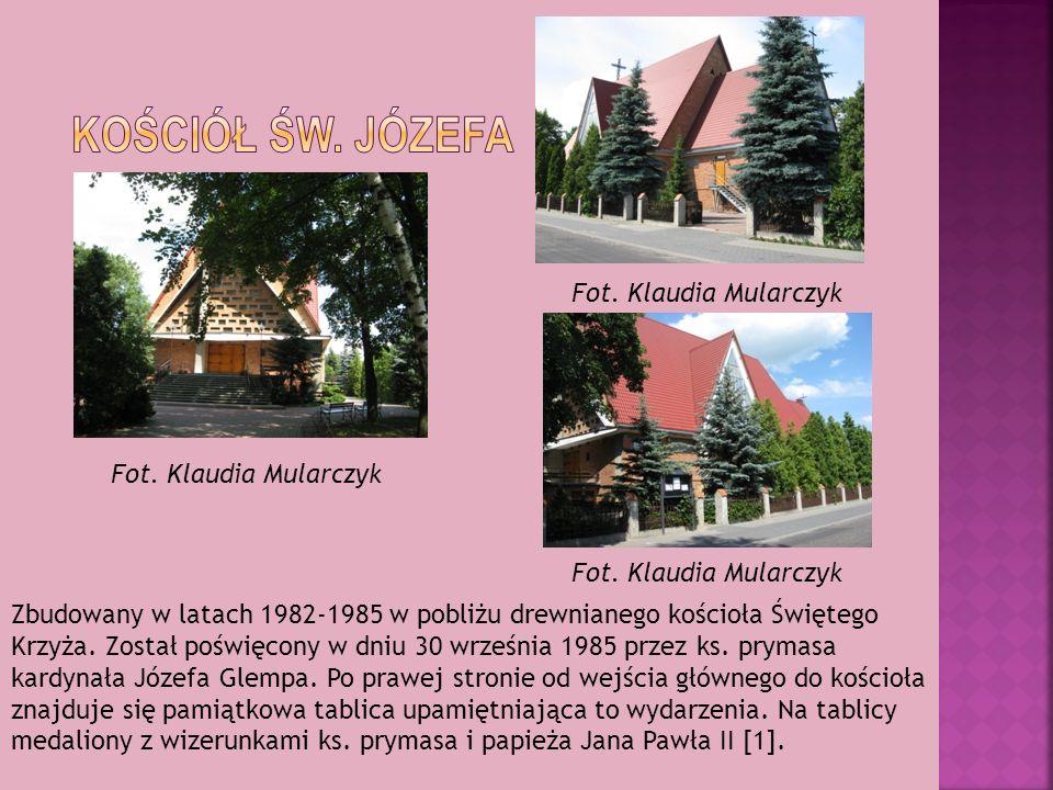 kościół św. Józefa Fot. Klaudia Mularczyk Fot. Klaudia Mularczyk
