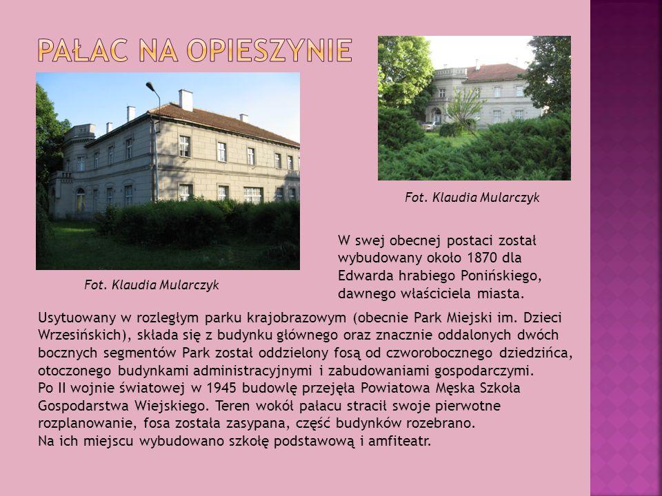 Pałac na Opieszynie Fot. Klaudia Mularczyk.