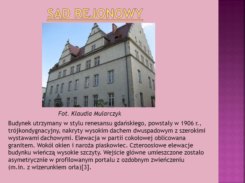 Sąd Rejonowy Fot. Klaudia Mularczyk