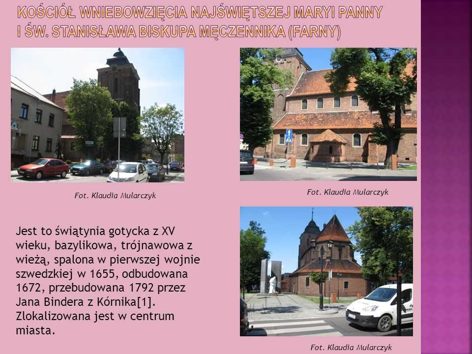 kościół Wniebowzięcia Najświętszej Maryi Panny i św