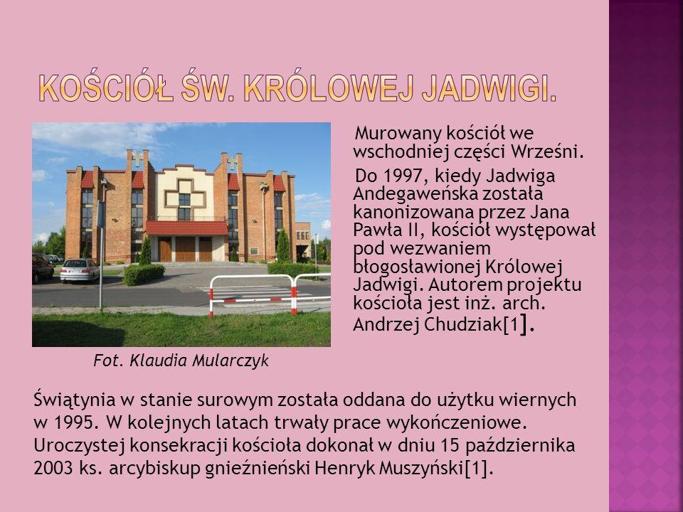 kościół św. Królowej Jadwigi.