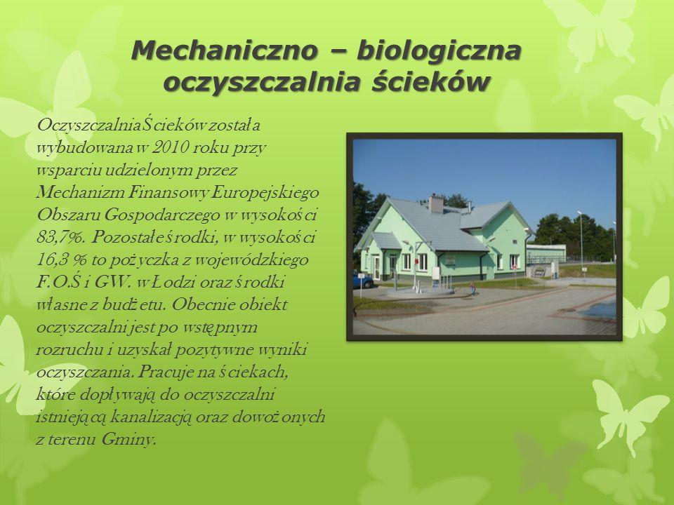 Mechaniczno – biologiczna oczyszczalnia ścieków