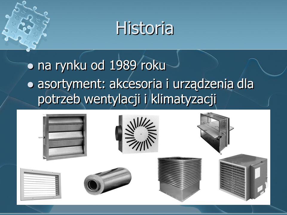 Historia na rynku od 1989 roku