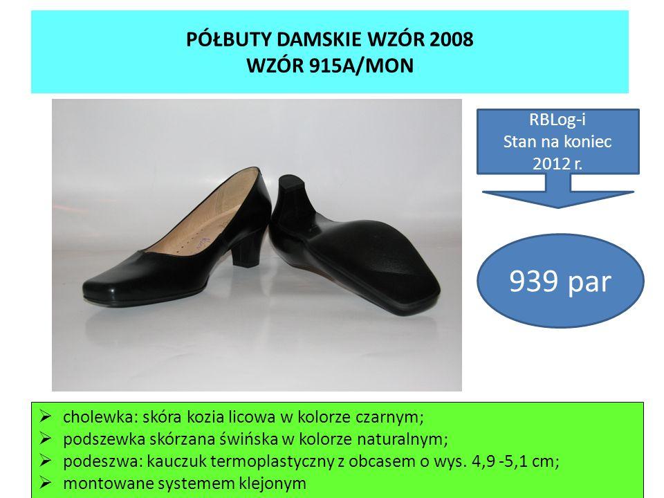 PÓŁBUTY DAMSKIE WZÓR 2008 WZÓR 915A/MON