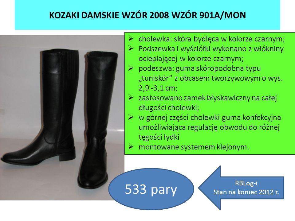 KOZAKI DAMSKIE WZÓR 2008 WZÓR 901A/MON