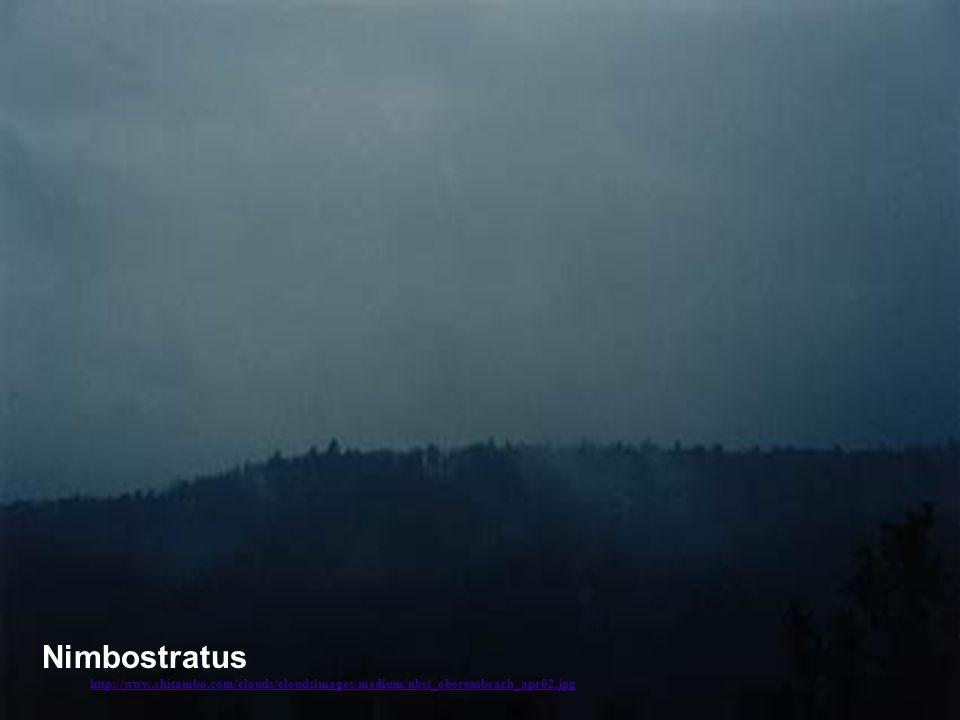 Nimbostratus http://www. chitambo