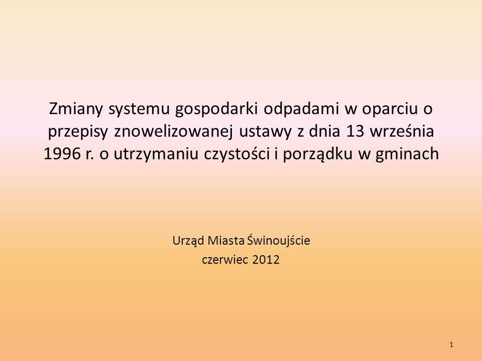 Urząd Miasta Świnoujście czerwiec 2012