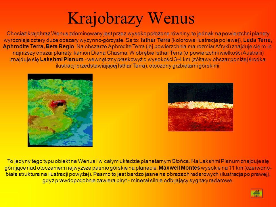 Krajobrazy Wenus