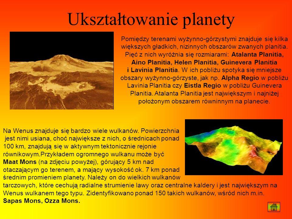 Ukształtowanie planety