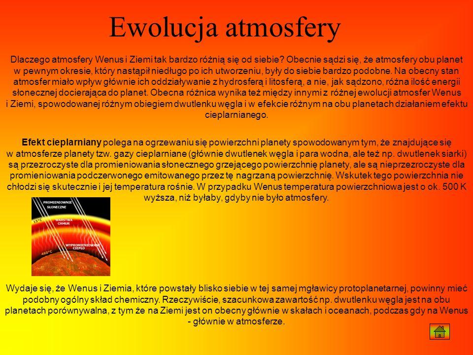 Ewolucja atmosfery