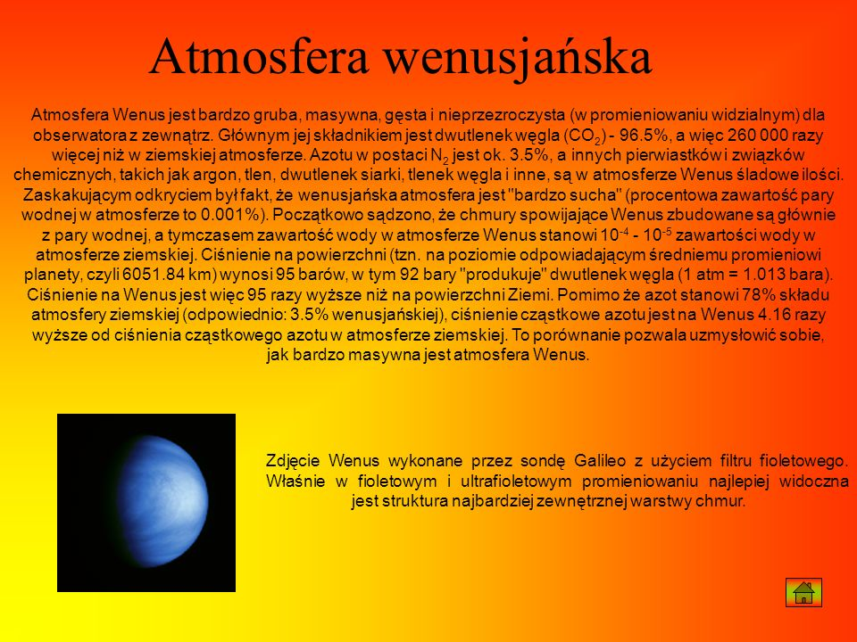 Atmosfera wenusjańska