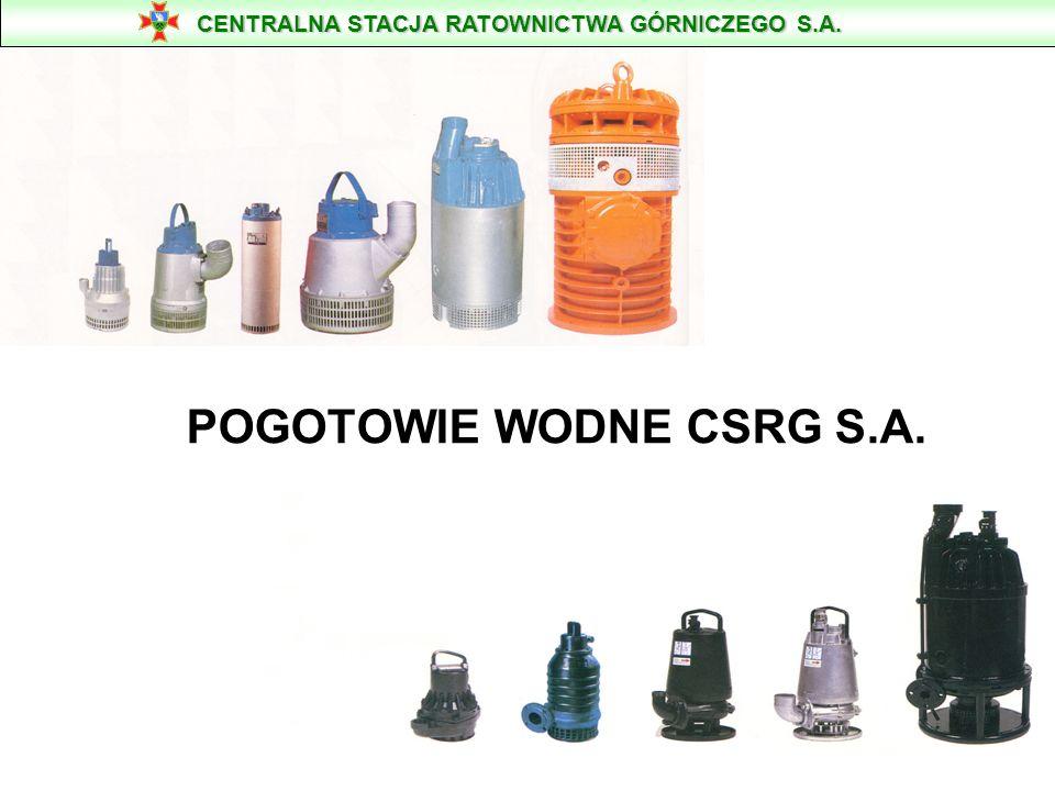 POGOTOWIE WODNE CSRG S.A.
