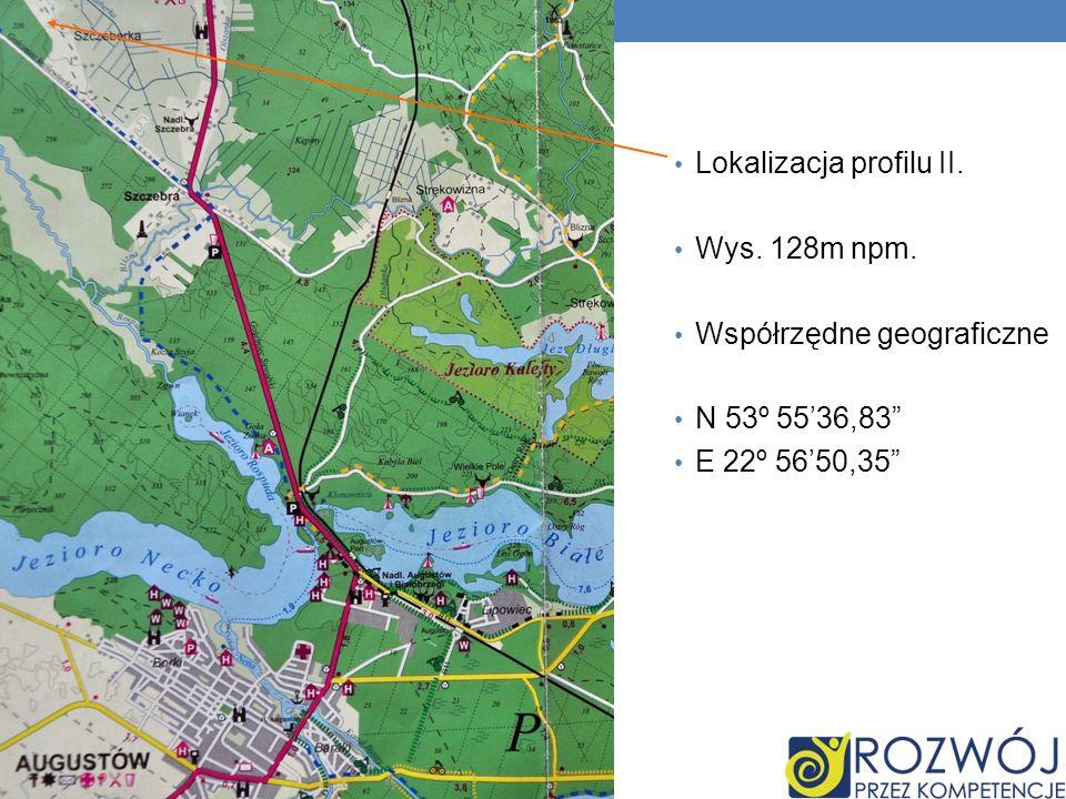 Lokalizacja profilu II.