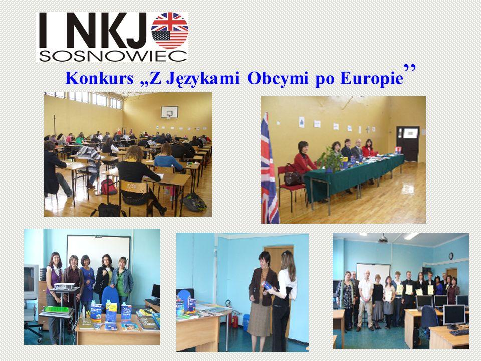 """Konkurs """"Z Językami Obcymi po Europie"""