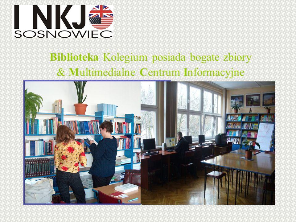 Biblioteka Kolegium posiada bogate zbiory