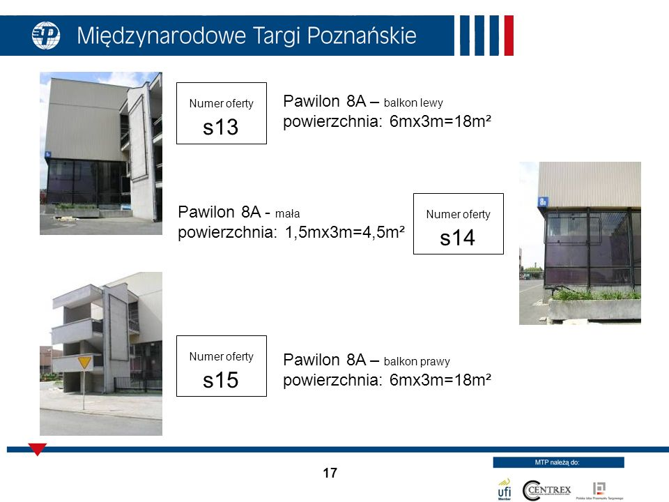 Pawilon 8A – balkon lewy powierzchnia: 6mx3m=18m²