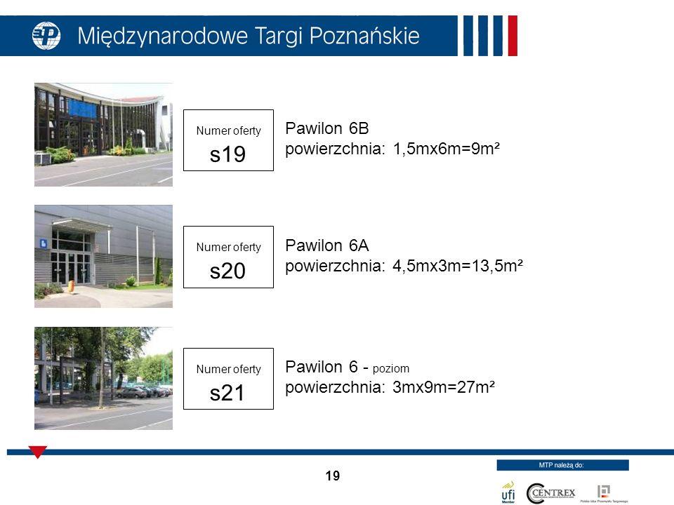 Pawilon 6B powierzchnia: 1,5mx6m=9m²