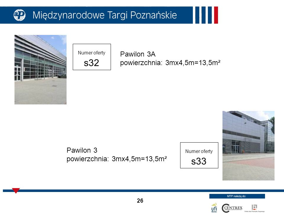 Pawilon 3A powierzchnia: 3mx4,5m=13,5m²