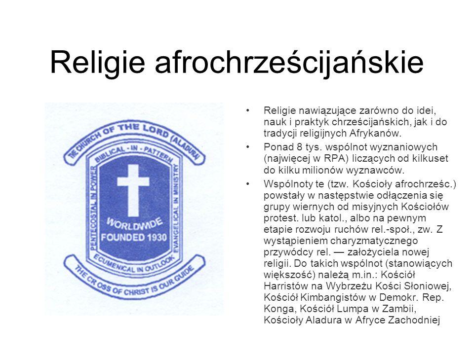Religie afrochrześcijańskie