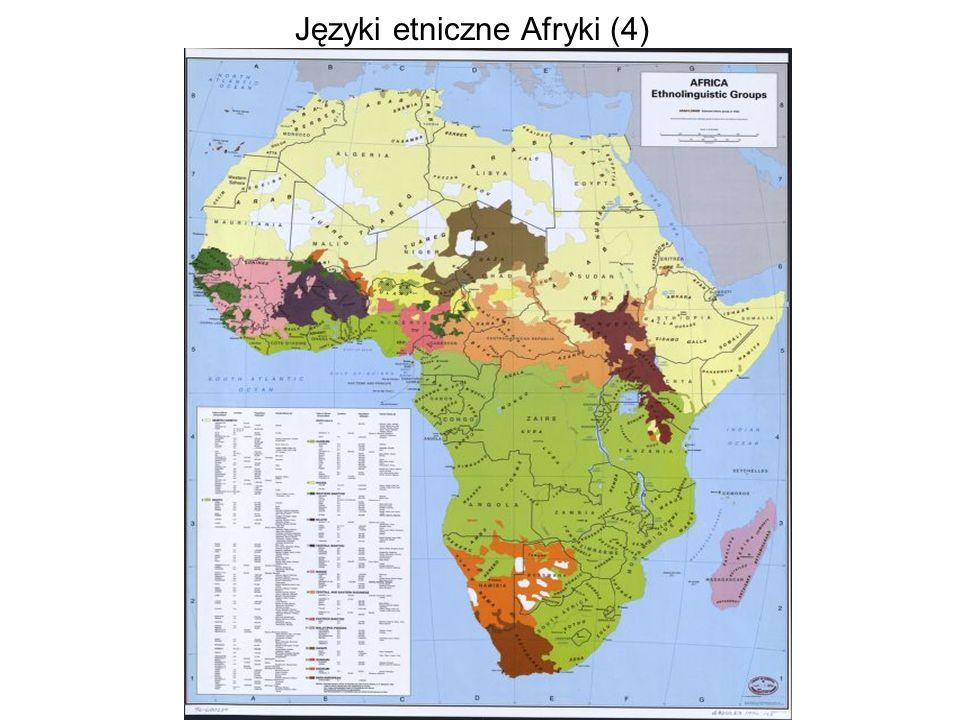 Języki etniczne Afryki (4)