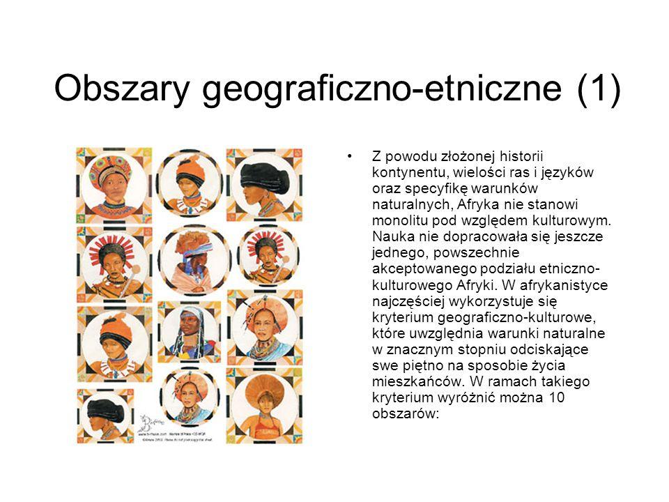 Obszary geograficzno-etniczne (1)