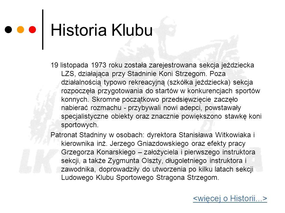 Historia Klubu <więcej o Historii...>