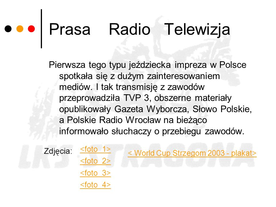 Prasa Radio Telewizja