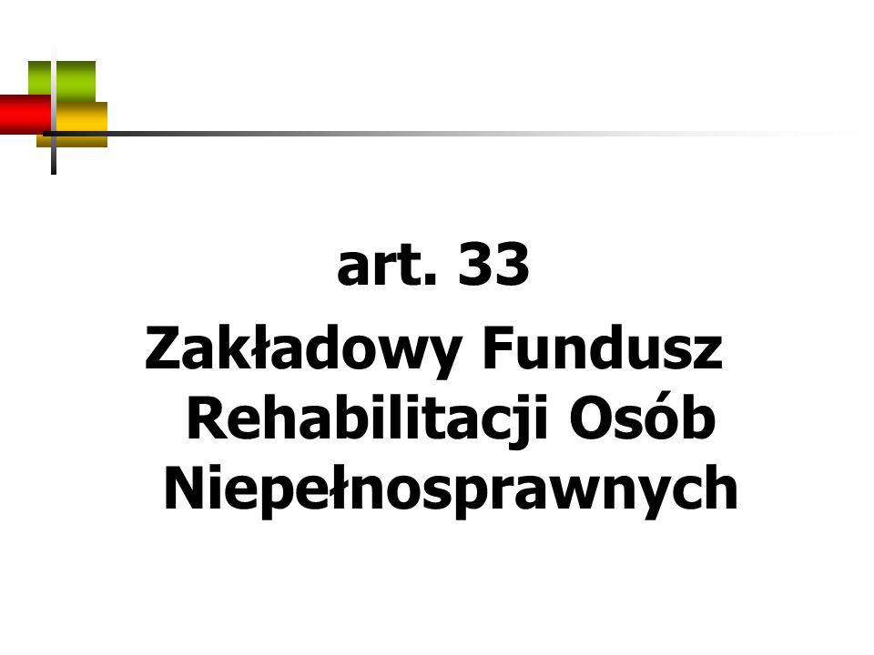 Zakładowy Fundusz Rehabilitacji Osób Niepełnosprawnych