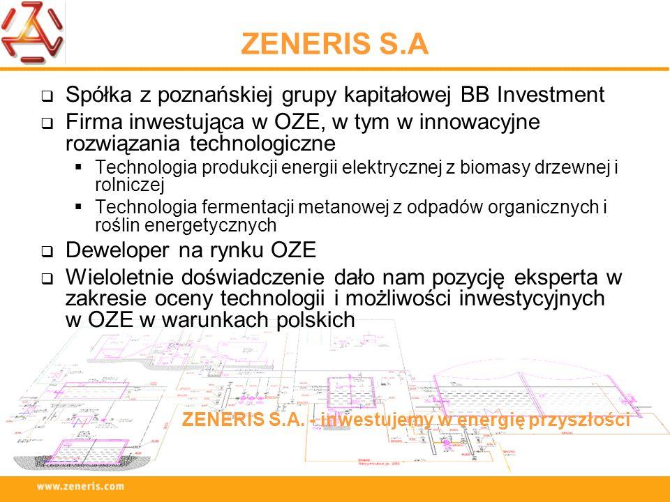 ZENERIS S.A Spółka z poznańskiej grupy kapitałowej BB Investment