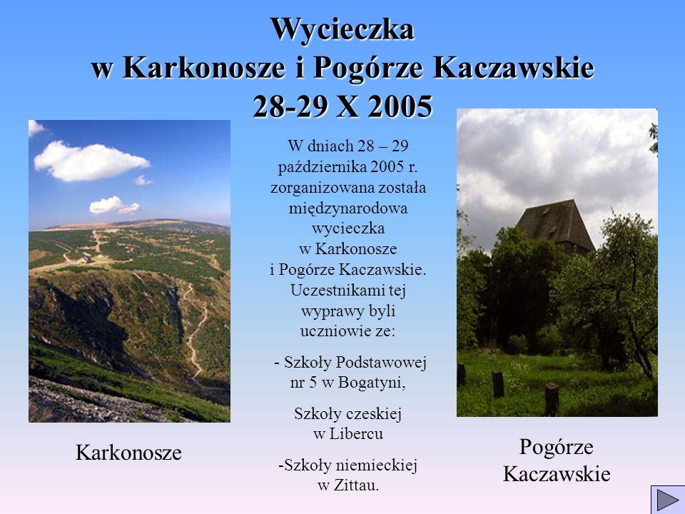 Wycieczka w Karkonosze i Pogórze Kaczawskie