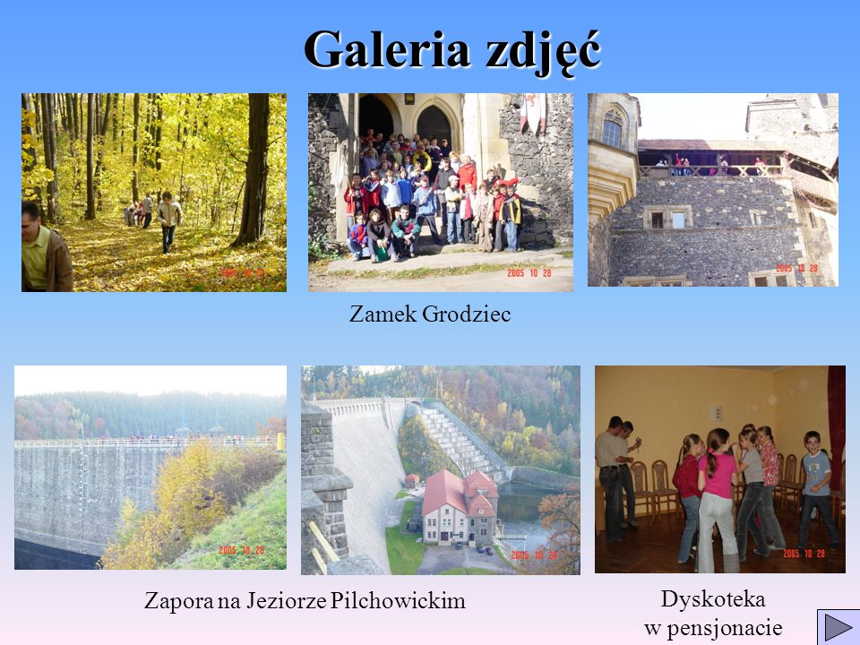 Galeria zdjęć Zamek Grodziec Zapora na Jeziorze Pilchowickim