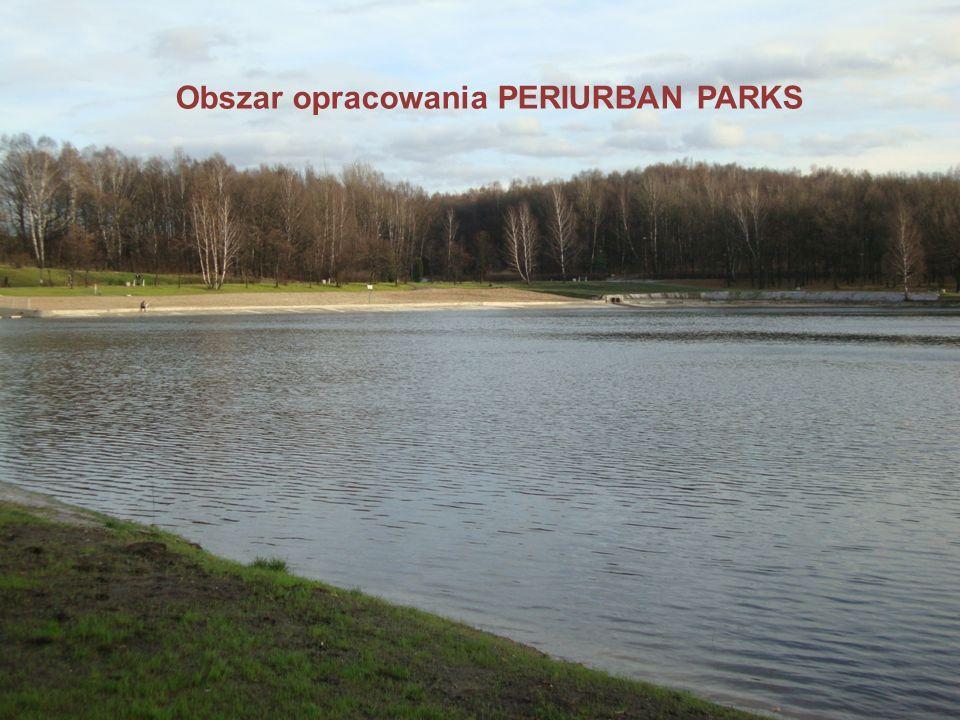 Obszar opracowania PERIURBAN PARKS