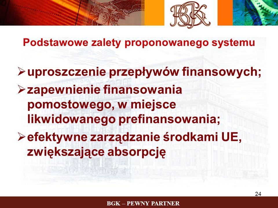 Podstawowe zalety proponowanego systemu