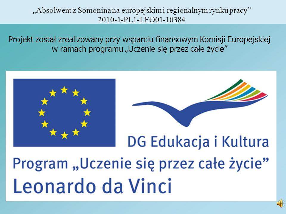 """""""Absolwent z Somonina na europejskim i regionalnym rynku pracy"""