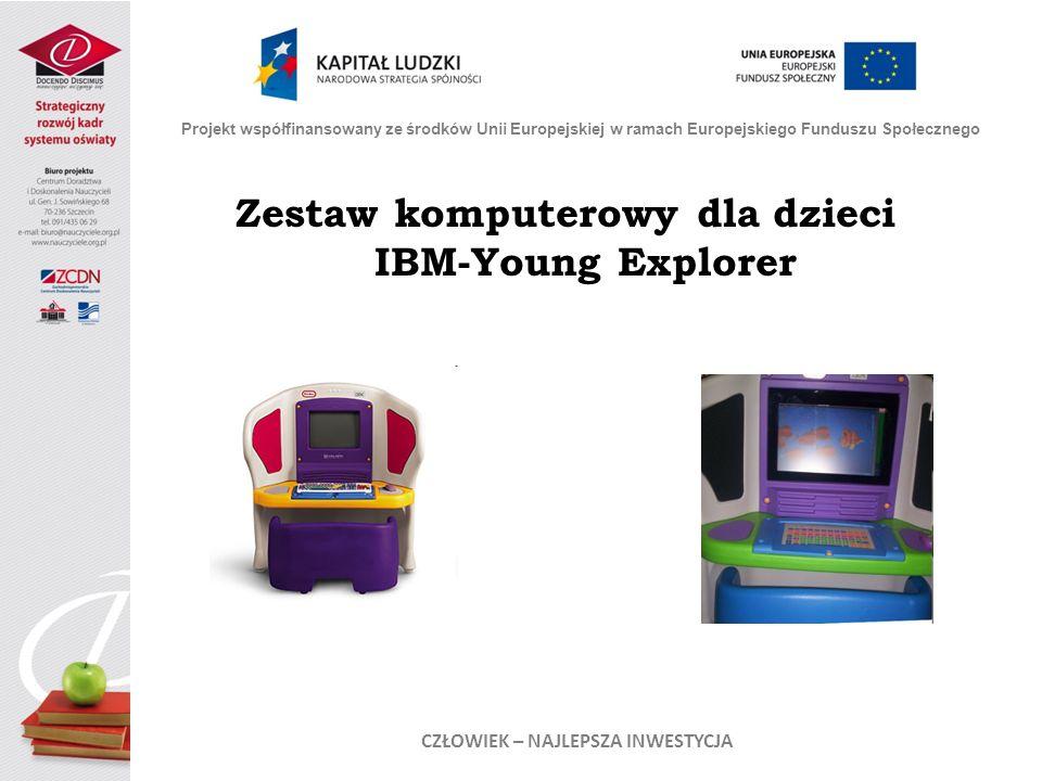 Zestaw komputerowy dla dzieci IBM-Young Explorer
