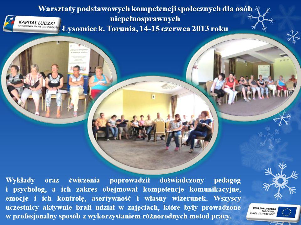 Łysomice k. Torunia, 14-15 czerwca 2013 roku