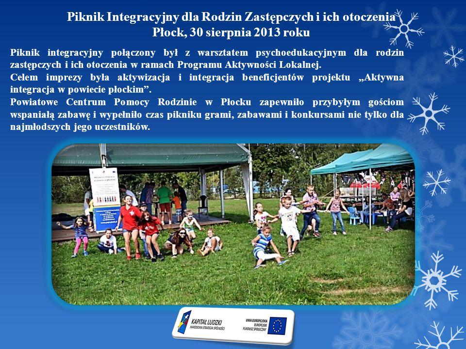 Piknik Integracyjny dla Rodzin Zastępczych i ich otoczenia