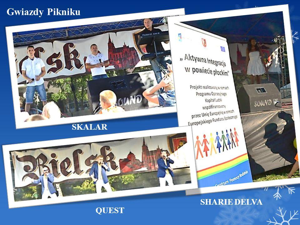 Gwiazdy Pikniku SKALAR SHARIE DELVA QUEST