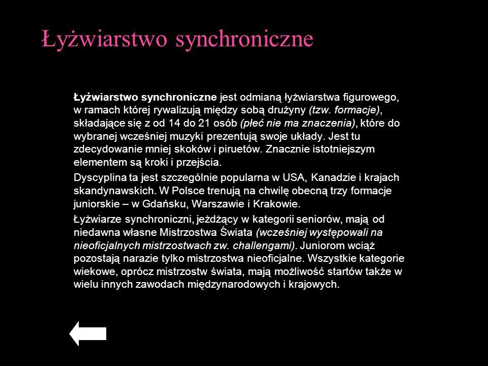 Łyżwiarstwo synchroniczne