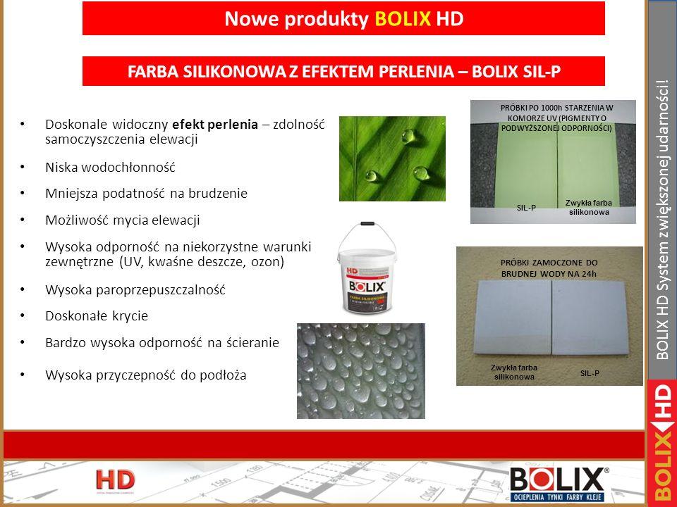 Nowe produkty BOLIX HD FARBA SILIKONOWA Z EFEKTEM PERLENIA – BOLIX SIL-P.